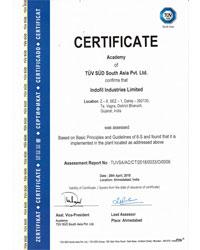 6S TUV Certificate